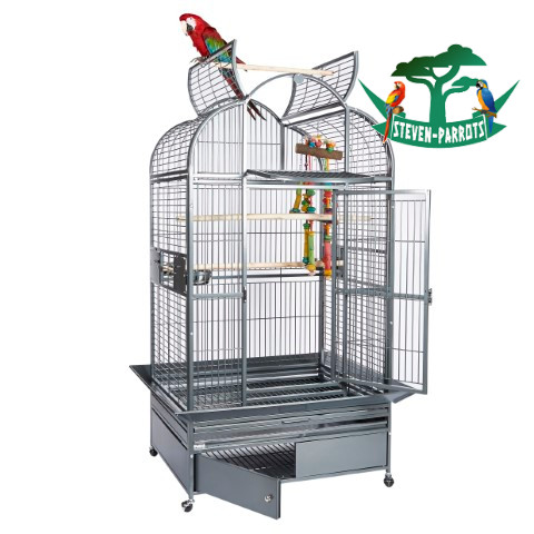 medium bird cage with stand - Steven Parrots